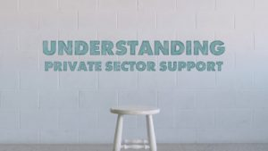 Understanding Private Sector Support